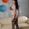 Alluring Eva Lin toying her juicy backside